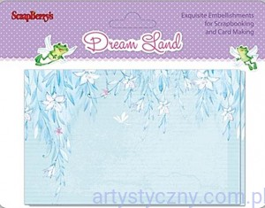 Papiery Ozdobne Dream Land,  Toppers 12ark, 7,5x12cm