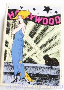 Hampton Art ~ Hollywood Diva ~ Stempel GIGANT