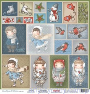 20 Toppers - Once Upon a Winter - Scrapberry's