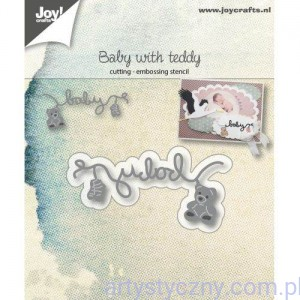 Wykrojnik Joy - Baby with Teddy 6002/1038