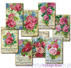 Papiery Mini do Scrapbookingu M81, Victorian Garden, 24ark