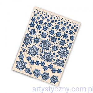 Foldery Tattered Lace - Delicate Snowflake (4szt)