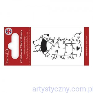 Stempel Akrylowy Dovecraft - Sausage Dog 176