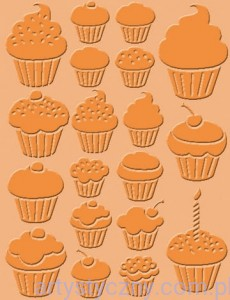 Folder Craft Concepts - Cupcakes - Babeczki