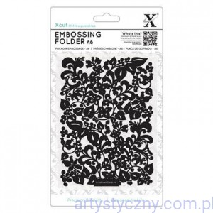 Folder Xcut A6 - SWEEPING FLORALS - XCU-515189