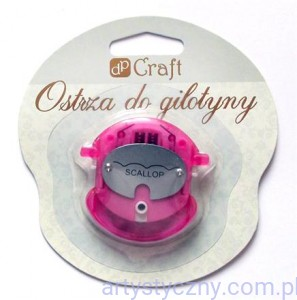 Ostrze do Gilotyny Craft ~ Scallop - Falbanka