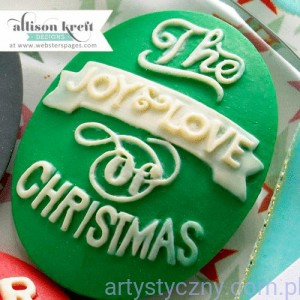 The Joy & Love of Christmas Cameo Set - 3 szt