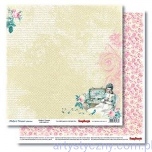 Papier ScrapBerry 2 ark Mother's Treasure Forever 30x30 сm