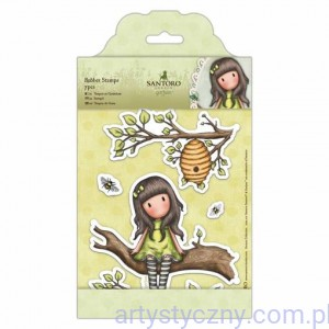 Gorjuss Large Rubber Stamps - Santoro - The Little Leaf - 7 szt
