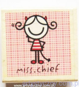 Stempel Ozdobny SMirk ~ Miss.Chief
