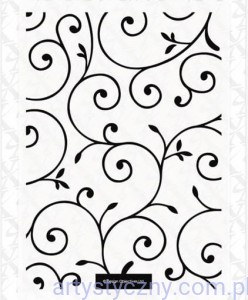 Xcut A6 Embossing Folder - Delicate Flourishes