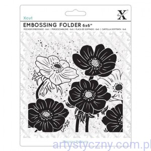 Folder Xcut - Full Bloom Helleborus - Kwiaty Ciemierniki