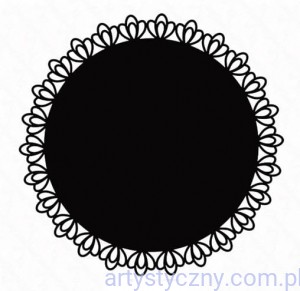 Folder Xcut - Filigree Circle - Serwetka Koronka XCU 515166