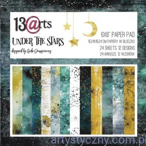 Papiery Ozdobne - Under the Stars 15x15cm - 24 ark