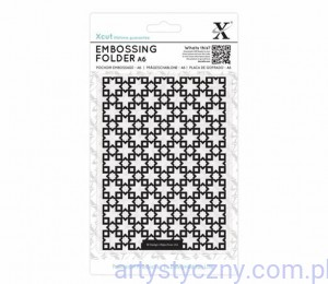 Xcut A6 Embossing Folder - Moroccan Star Tiles XCU 515157