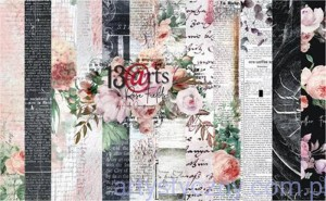 "Papiery do Scrapbookingu - Rose Fields 12""x12"""
