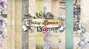 "Papiery do Scrapbookingu - Vintage Summer 12""x12"""