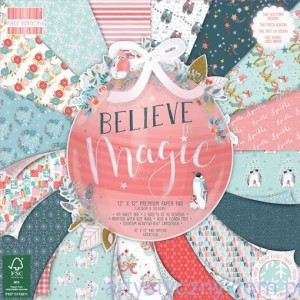 Papier Ozdobny First Edition - Believe In Magic 15x15cm, 16ark