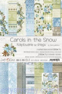 Papiery do Scrapbookingu - Carols In the Snow 14 ark A4