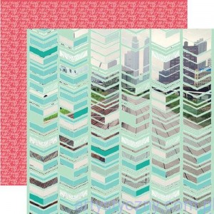 Papier do Scrapbookingu, City Scape, 30x30сm