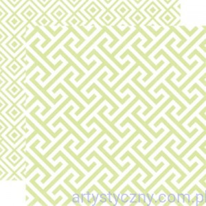 Papier do Scrapbookingu, Sprig Geometric 30x30сm