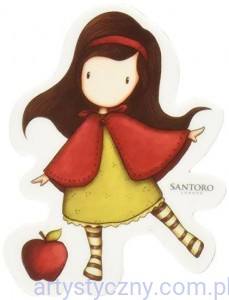 Stempel Gumowy Gorjuss Santoro Nr 14 Little Red