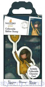 Stempel Gumowy Gorjuss Santoro Nr 45 Fly Away With Me