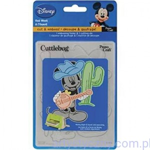 Wykrojnik i Folder - Cuttlebug Disney A2 Combo Set - Out West