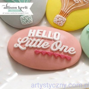 Hello Little One Cameo Set - Pink - 3 szt