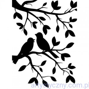 Folder Darice - Birds in Branches - Ptaszki na Gałązce 1219-102
