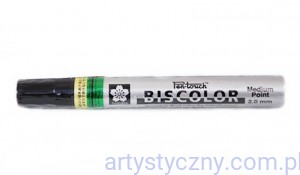 SAKURA Pen-Touch Deco Biscolor Marker Medium - Gold/Green