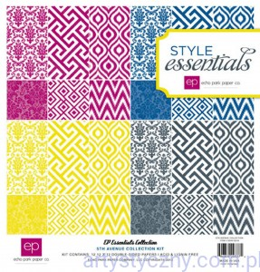 Papiery Style Essentials - 5th Ave Kit Collection, 30x30сm