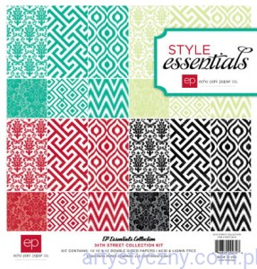 Papiery Style Essentials - 34th Street Kit Collection, 30x30сm