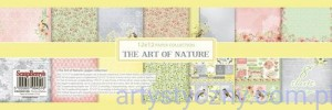 Papiery Ozdobne ScrapBerry's - The Art of Nature, 8 ark 30x30 сm