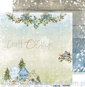 Papier Ozdobny Craft o'Clock 30x30cm - Carols in the Snow 03