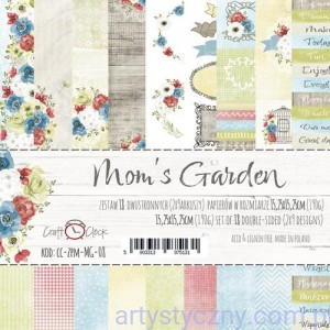 Papiery Craft o'Clock - Mom's Garden 15x15 cm - 9 ark