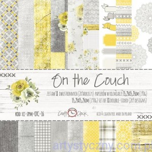 Papiery Craft o'Clock - On the Couch 15x15 cm - 18 ark