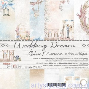 Papiery Craft o'Clock - Wedding Dream - 15x15cm, 24 ark