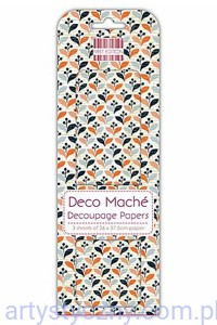 Papier do Decoupage - First Edition - Retro Repeat FEDEC262