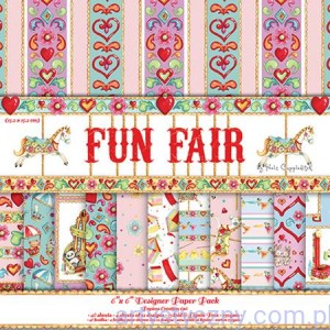 Papiery Ozdobne Fun Fair - 15,3x15,3 cm ~ 48 ark