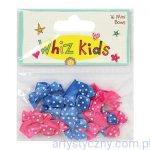 Kokardki - Whiz Kids Mini Bows - 16 szt