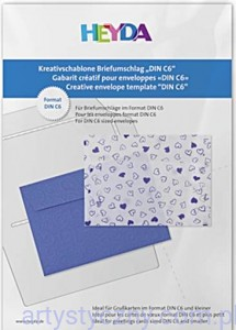 Szablon do Kopert C6 - Craft Template 114x162mm