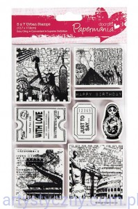Stemple - Urban Stamps - Bookprint - Around the World 1