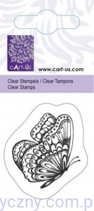 Stempel Akrylowy CartUs ~ Flying Butterfy - Motylek - 1058