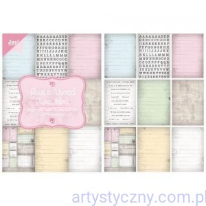 Papiery Joy - Rustic Wood - 32 ark A5 - 6011/0085