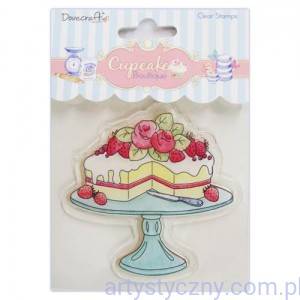 Stempel Tort -  Dovecraft Cupcake Boutique Clear Stamps - Cake