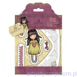 Gorjuss Rubber Stamps - Santoro - Heartfelt