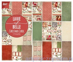 Papiery Ozdobne Joy - Christmas Carol, Lavie Belle - 15x30cm - die cut - 6011/0382
