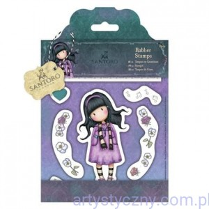 Gorjuss Rubber Stamps - Santoro - Little Song