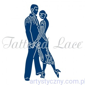 Wykrojnik Tattered Lace - Salsa Couple TTL/D1345/D